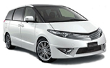 HITCH CAR RENTALS Car rental Auckland Airport - International Terminal Van car - Toyota Estima