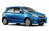 UNIDAS Car rental Campo Grande - International Airport Compact car - Toyota Etios XS