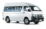 SIXT Car rental Pemba - Beach Resort Hotel Van car - Toyota Hiace