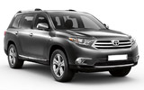 MEX Car rental Plaza Playacar - Playa Del Carmen Suv car - Toyota Highlander