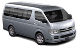 BUDGET Car rental Knock - Airport Van car - Toyota Minibus