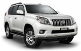 THRIFTY Car rental King Hussein Airport Aqaba Suv car - Toyota Prado