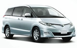 EUROPCAR Car rental Hamad International Airport Van car - Toyota Previa
