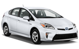 HERTZ Car rental Mountain View Standard car - Toyota Prius Hybrid