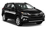BUDGET Car rental Figueras Vilafant - Train Station Suv car - Toyota Rav4