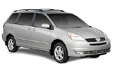 ALAMO Car rental San Francisco - Airport Van car - Toyota Sienna