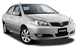 CASONS Car rental Mahinda Rajapaksa - International Airport Compact car - Toyota Vios
