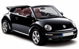SIXT Car rental Faro - Airport Convertible car - Volkswagen Beetle Convertible