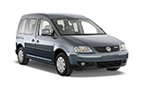 RECORD Car rental Alicante - Train Station Van car - Volkswagen Caddy