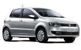 ORLANDO Car rental Puerto Rico - Puerto Mar - Hotel Deliveries Mini car - Volkswagen Fox