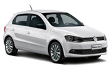 EZ Car rental Cancun - Hotel Aloft Economy car - Volkswagen Gol
