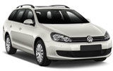 THRIFTY Car rental Klaipeda Downtown Standard car - Volkswagen Golf Estate