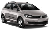 EUROPCAR Car rental Lugano Downtown Standard car - Volkswagen Golf Plus