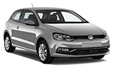 KEDDY BY EUROPCAR Car rental Ibiza - Playa Portinatx Economy car - Volkswagen Polo