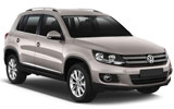 EUROPCAR Car rental Lugano Downtown Suv car - Volkswagen Tiguan