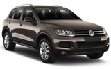 SIXT Car rental Le Port Suv car - Volkswagen Touareg