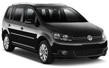 EUROPCAR Car rental Trier Van car - Volkswagen Touran