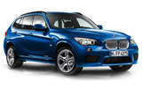 AVIS Car rental Thassos - Downtown Suv car - BMW X1