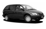 RIGHT CARS Car rental Kingston - Central Van car - Chrysler Voyager