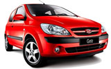 HERTZ Car rental Airport City Business Park Economy car - Hyundai Getz