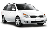 EUROPCAR Car rental Airport City Business Park Van car - Kia Carnival