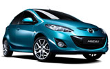 BUDGET Car rental Thassos - Downtown Economy car - Mazda 2