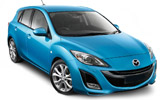 BUDGET Car rental Airport City Business Park Standard car - Mazda 3