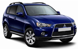 BUDGET Car rental Airport City Business Park Van car - Mitsubishi Outlander