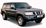 DOLLAR Car rental Sohar - Downtown Suv car - Nissan Patrol
