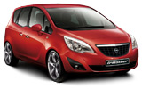 SIXT Car rental Airport City Business Park Compact car - Opel Meriva