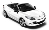 EUROPCAR Car rental Le Port Convertible car - Renault Megane Convertible
