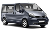 BUDGET Car rental Airport City Business Park Van car - Renault Trafic