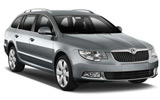 ALAMO Car rental Bratislava - Airport Standard car - Skoda Superb Estate