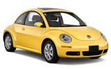 EUROPCAR Car rental Gent Railway Station Economy car - Volkswagen Beetle